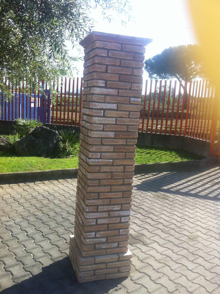 Oltre 1000 idee su mattoni su pinterest giardino in for Colonne arredo