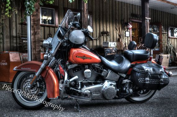 Harley Davidson Bike photographed in HRD by PieceOfMePhotos