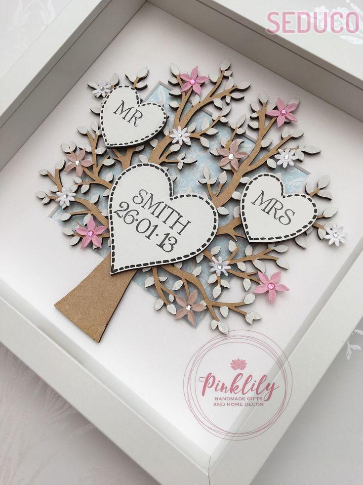 Personalised Wedding Frame Personalized Wedding Frames Homemade Wedding Gifts Diy Wedding Gifts