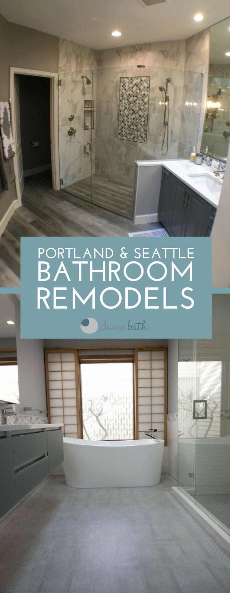 90 Best Devine Bath Bathroom Remodels Images On Pinterest  Bath Mesmerizing Bathroom Remodel Seattle Decorating Design