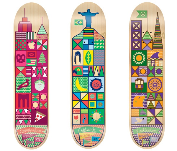 Don't know about the tree for the NYC deck, but everything else looks legit. nice series.