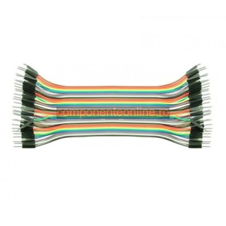 Cablu pentru teste, 40 fire, lungime 20cm - 173190