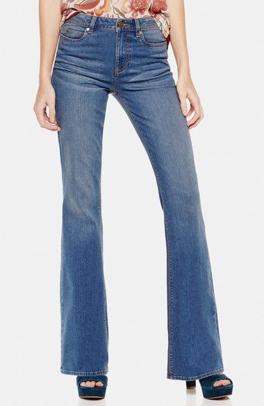 Two by Vince Camuto 'Classic '70s' Flare Leg Jeans (Authentic) available at #Nordstrom