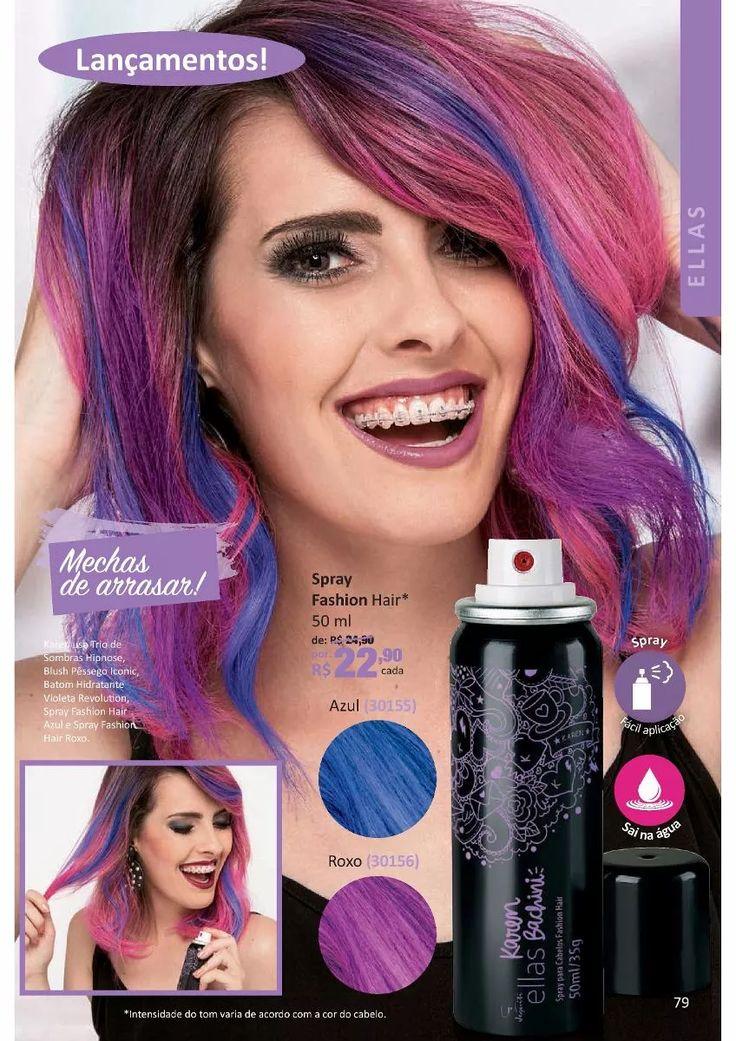 spray fashion hair ellas - karen bachini - jequiti