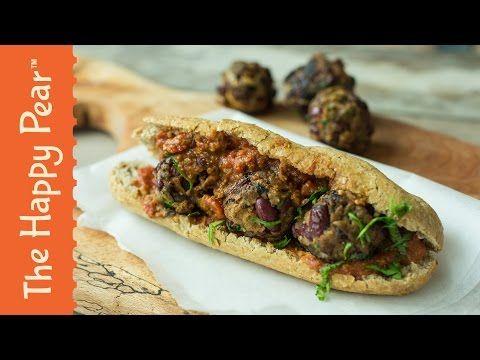 5 Minute Vegan Meatball Sub | Cheap Easy Vegan - YouTube