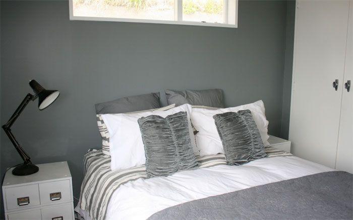 A calming colour scheme of Resene Paints