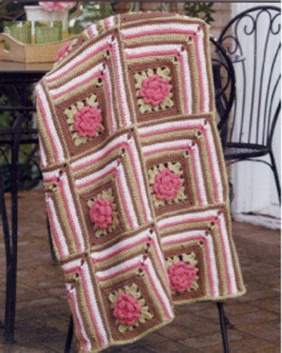 Marcel Afghan Knitting Pattern : 2828 best images about Afghans on Pinterest Afghan ...