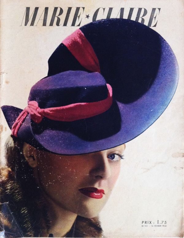 Marie Claire France cover, February 16, 1940