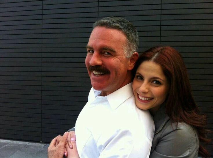 Ari Telch & la actris Andrea Marti, quien tambien partisipa en la novela Prohibido Amar!!!
