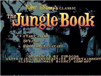 Sega 16bit MD карточные игры: Книга Джунглей 16 бит Sega MegaDrive Genesis игровой консоли