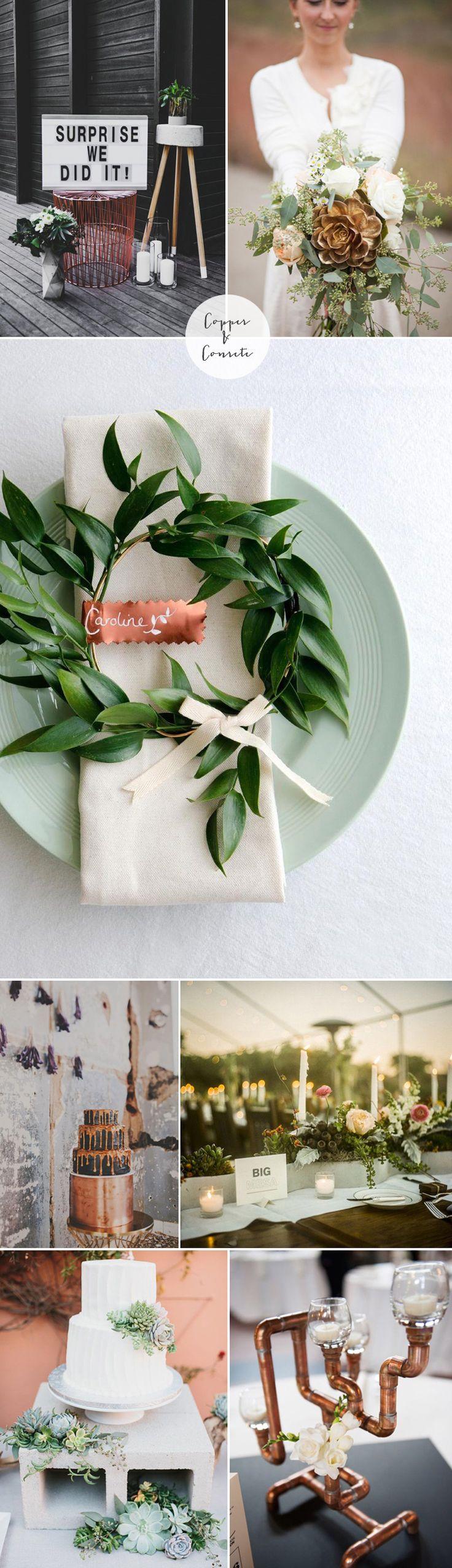 best june styled shoot images on pinterest copper wedding