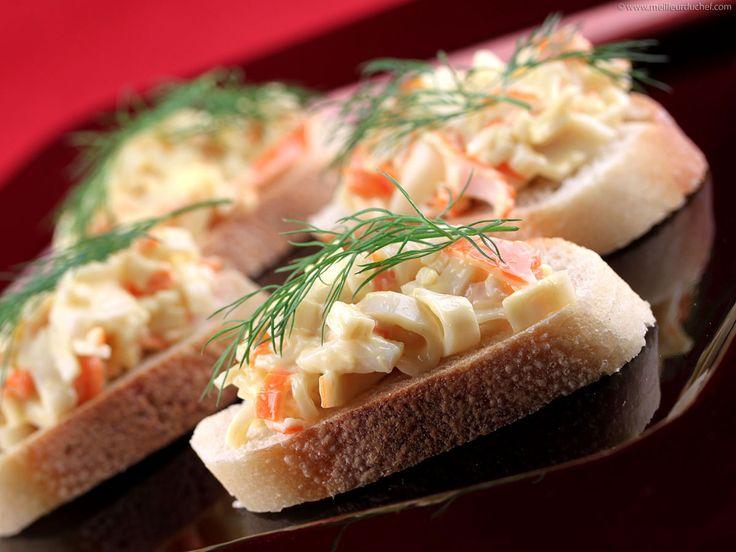 Tapas au surimi recette espagnol recettes de tapas et - Cuisine espagnole tapas ...