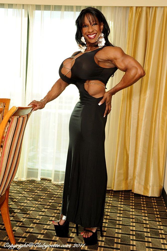 Busty Muscle Women