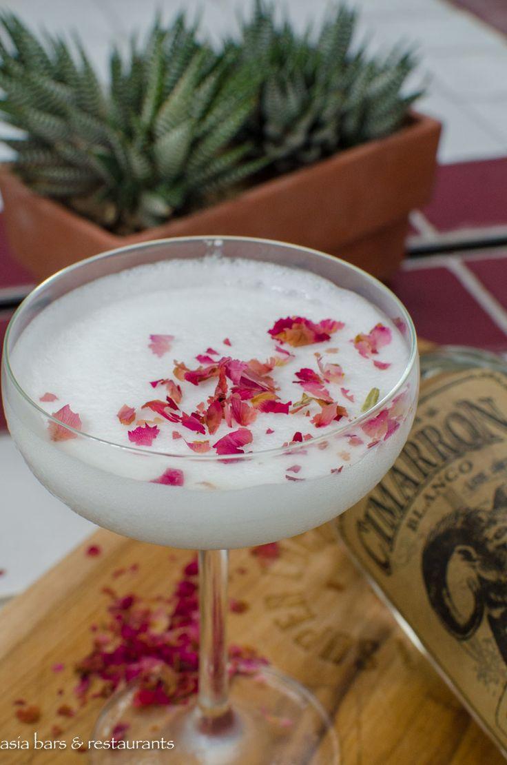 Margarita De Coco - Cimarron Blanco Tequila, Cointreau, spearmint agave, coconut milk, lime zest