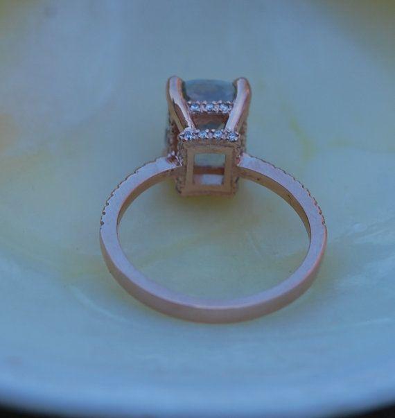 Blake animado ct 317 menta zafiro 14k diamante por EidelPrecious