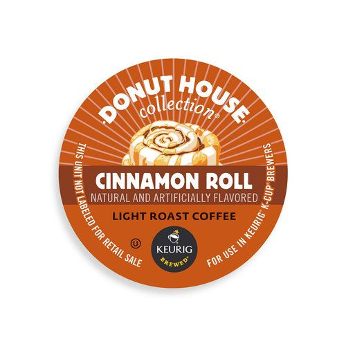 Donut House Collection Cinnamon Roll Coffe K Cup Portion