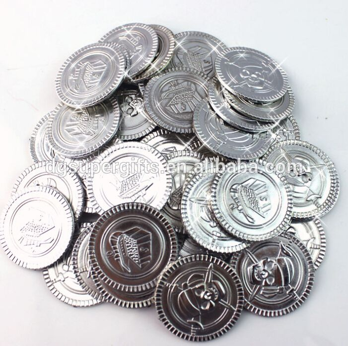 Something like this would make great LARP currency - Bulk plastic