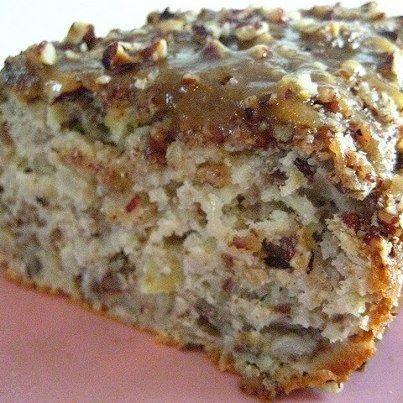 Apple Praline Bread  1 cup sour cream   1 cup brown sugar   2 eggs   2 tsp…