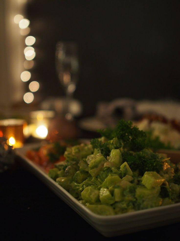 3 reseptiä uudenvuoden salaattipöytään // At Maria's