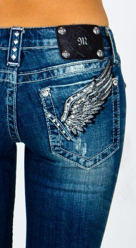 Miss Me jeans!!! My favorite babe brand jeans!!! Fit better than any jeans I have ever tried on!! Plus they have bling on the pockets :) must have jeans