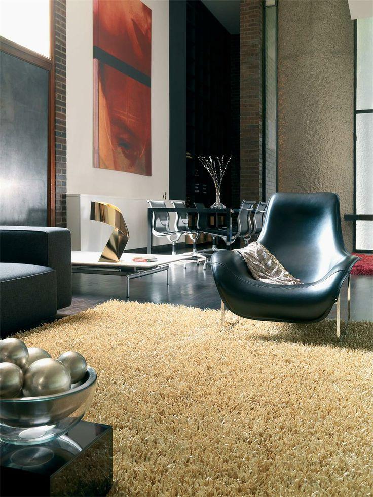 27 best Modern Glamour images on Pinterest Interior rugs, Modern - hochflor teppich wohnzimmer