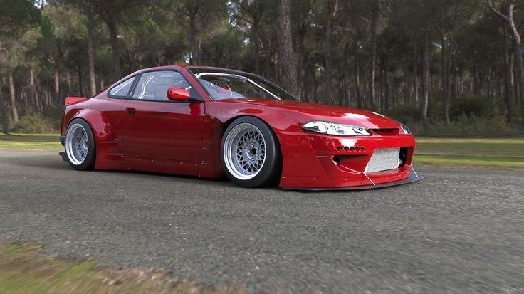 #RocketBunny V2 Aero - Nissan Silvia (S15) - Special Order Full Widebody Aero Kit http://kamiwaza-japan.jp/