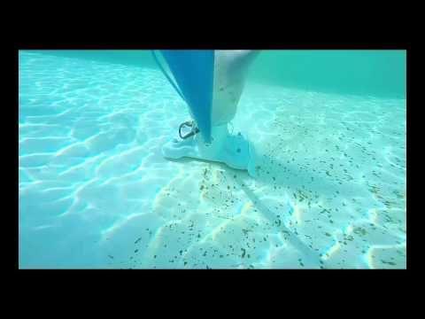Balai autonome Quick Vac' HEXAGONE pour piscine collective, pataugeoire ...
