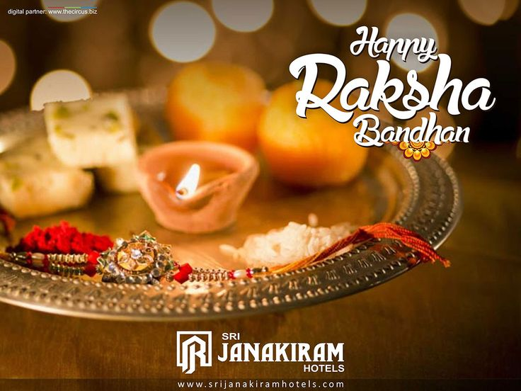 A thread for long life, entwined with good wishes & prayers, sparkling with happy thoughts, beaded together with sweet memories!! HAPPY RAKSHA BANDHAN!!! #srijanakiram