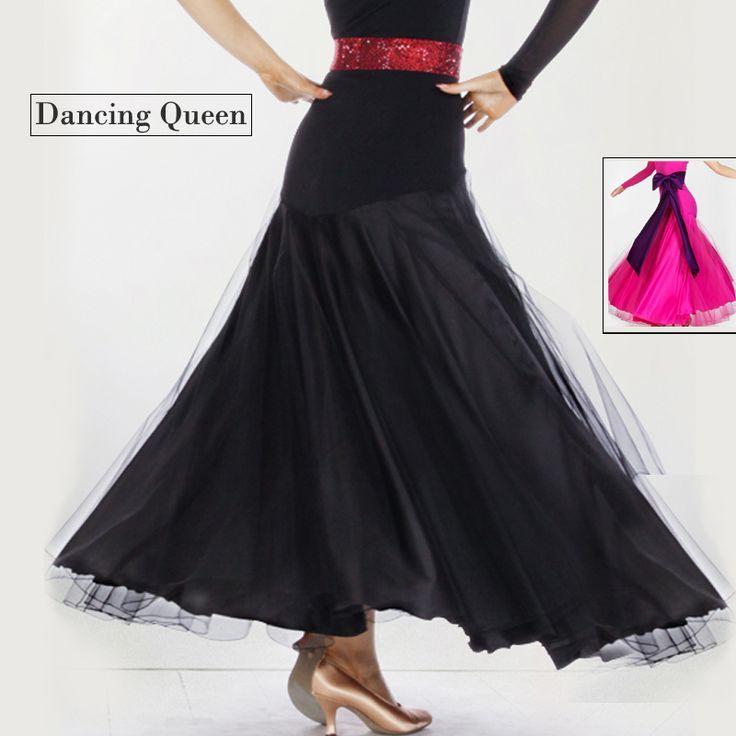 2015 платья для бальных танцев стандартный бордо красный / голубой джаз / танго платье для женщин бальные юбки танец фламенко юбка