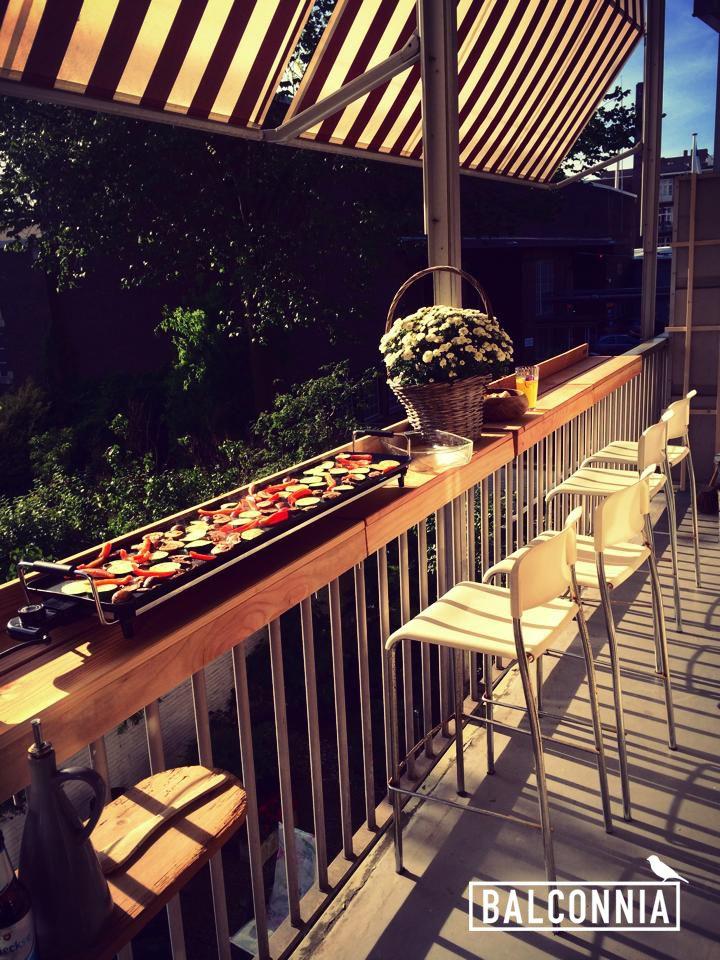 Tu Propia Barra De Bar En La Terraza Mobiliario Terraza Decoracion Terraza Balcones De Los Apartamentos