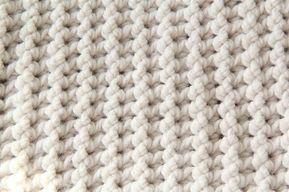 Gehäkelte Babydecke mit stabiler Struktur (kostenloses Muster)