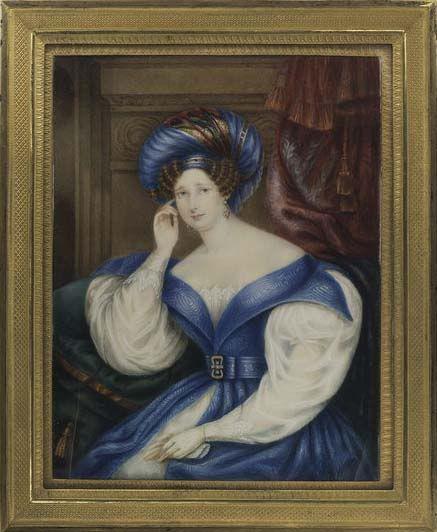 Queen Caroline Amalie, early 1830's
