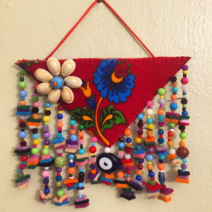 keçe, nazarlık, sipariş, felt, feltro, amulet, turkish eye, design