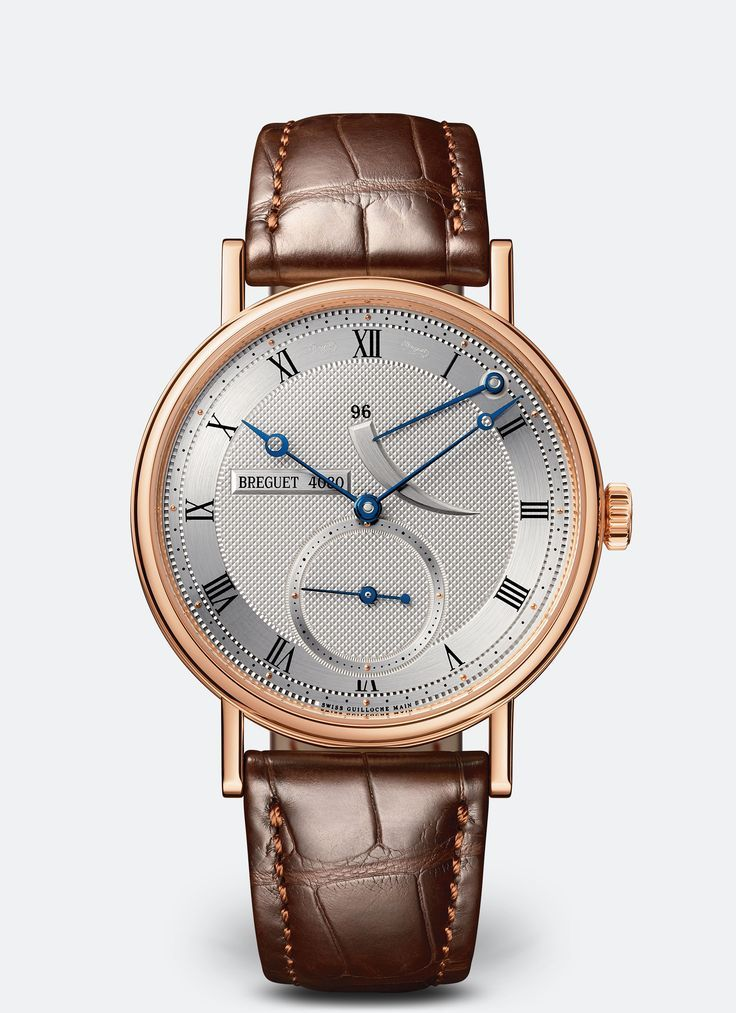 Classique 5277 | Breguet. Look at this beautiful fonts and well finished hands.