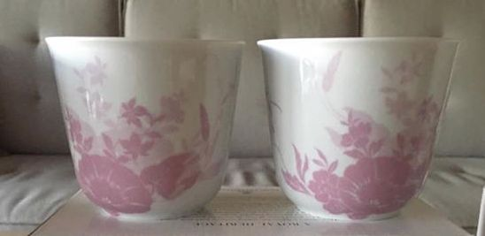 Royal Copenhagen Flower Silhouette termokrus. Udgået special edition til det japanske marked.