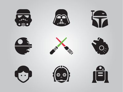 star wars icons - Buscar con Google
