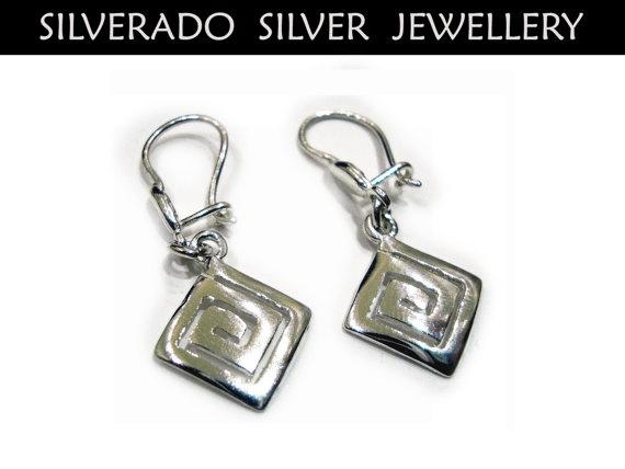 Ancient Greek Eternity Key Meander Small by SilveradoJewellery, €20.00
