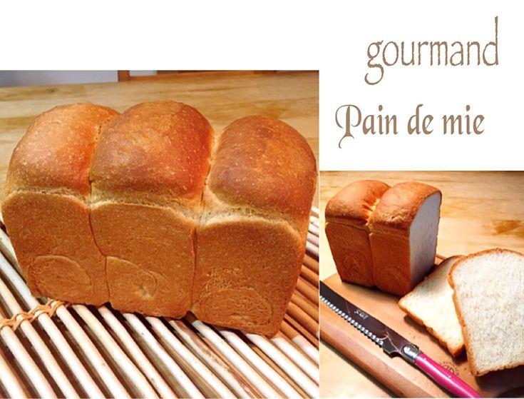 プーティ's dish photo めぐぴょんさんの  角食パン | http://snapdish.co #SnapDish #レシピ