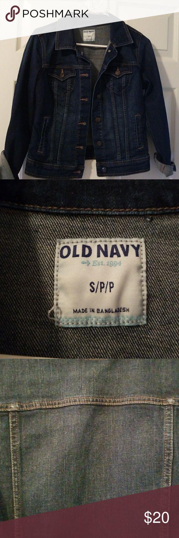 Old Navy Jean Jacket Jean jacket Gently worn Smoke free home Old Navy Jackets & Coats Jean Jackets