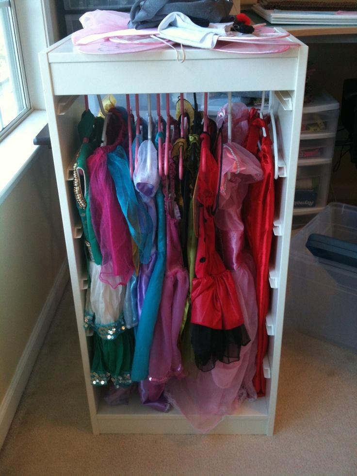 trofast frame tension bar dress up clothes princess. Black Bedroom Furniture Sets. Home Design Ideas