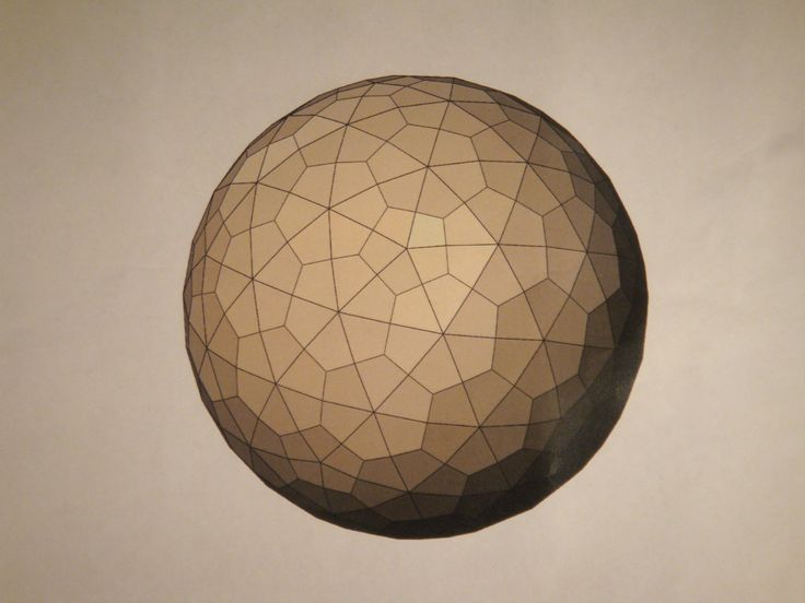 Pentakis Snub Dodecahedron Geodesic Domes Pinterest