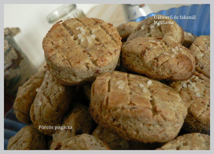 Habverő és fakanál: Pörcös pogácsa