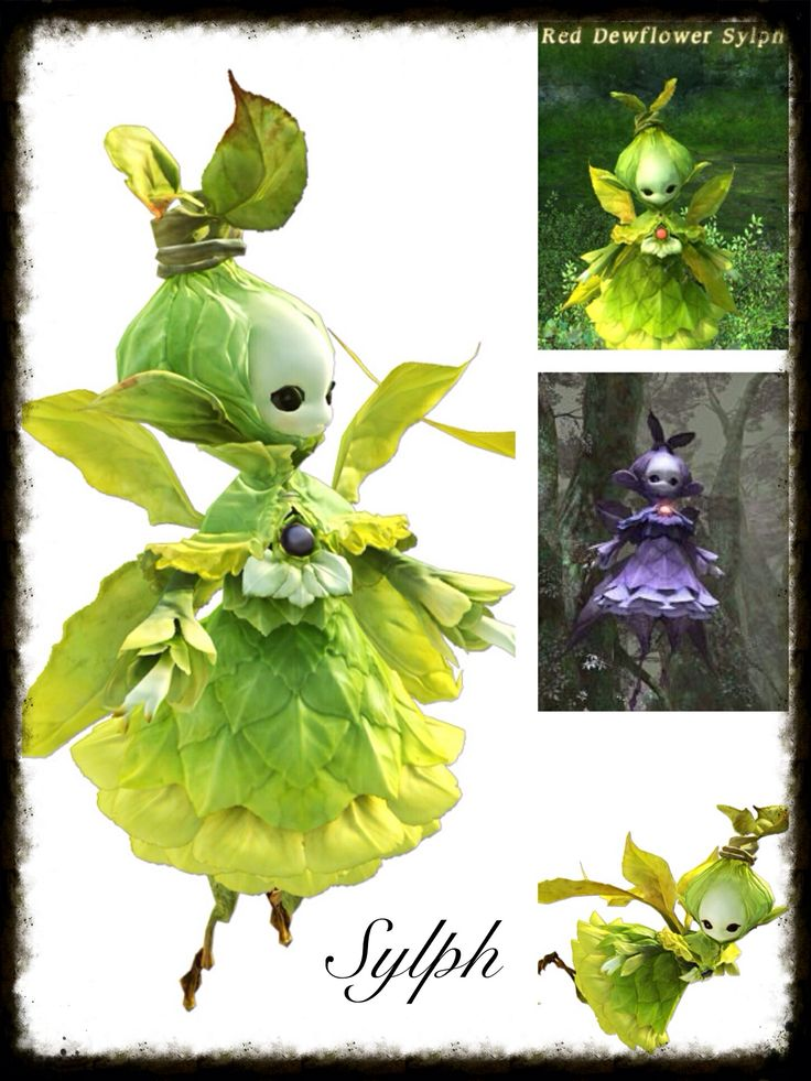 Final Fantasy 14 Cosplay Inspiration Board: Sylph