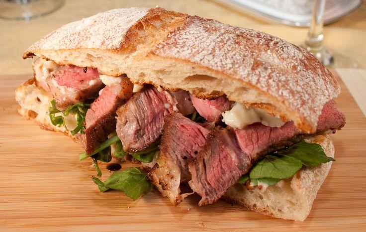Beef Black Pepper Sandwich