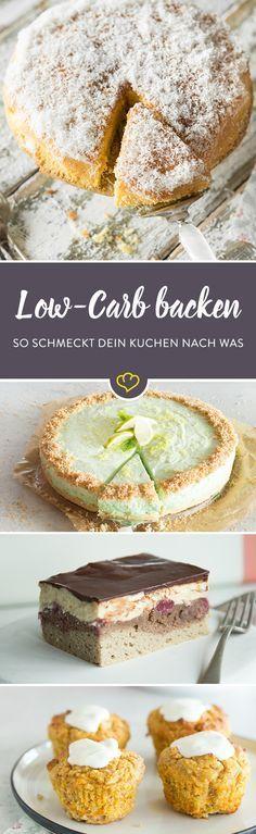 So backst du Low-Carb-Kuchen, die nicht geschmacklos sind