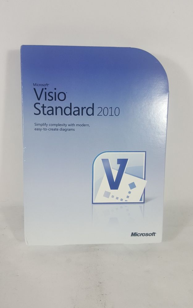 Microsoft Visio Standard 2010 Full Version