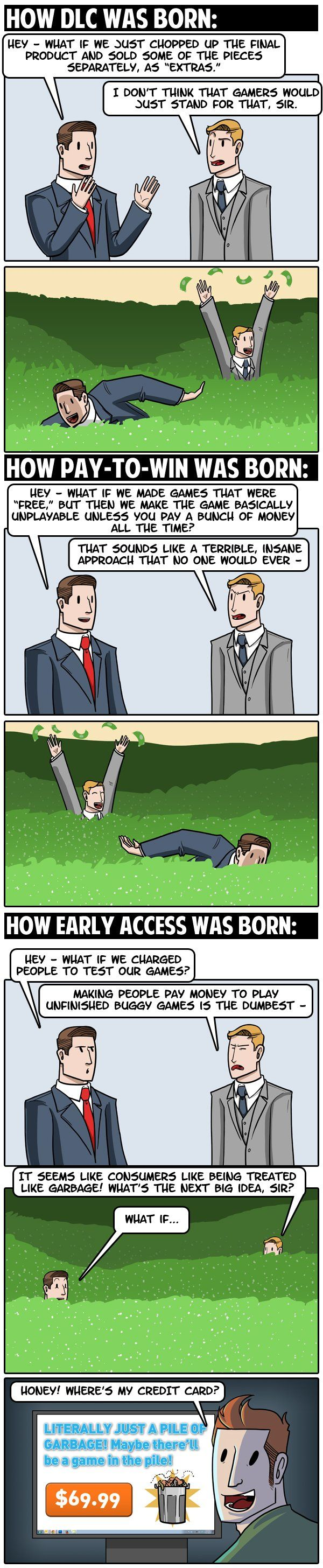 """How Every Awful Video Game Thing Was Born"" #dorkly #geek #videogames"