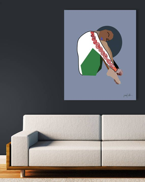 """Woman print Female figure Modern art Figurative art Colorful USE THE CODE """"PINTEREST"""" TO RECEIVE 30% OFF!"""