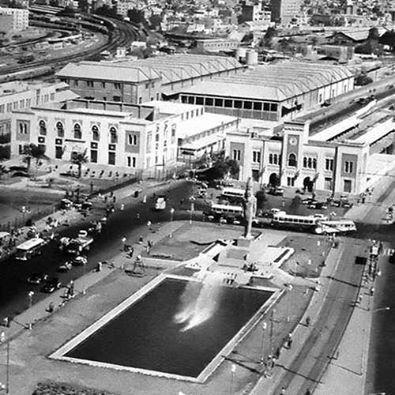 Aerial shot of Ramses Square & Rameses St., Cairo. 1904.