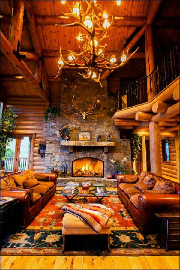 6776 best mountain cabin images on pinterest for Arredamento stile americano